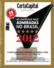 As Empresas mais Admiradas do Brasil, da revista Carta Capital