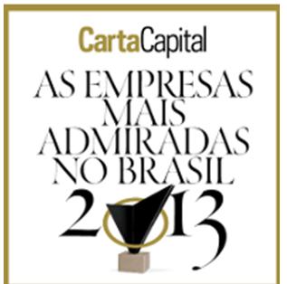 Empresas Mais Admiradas do Brasil–  Revista Carta Capital