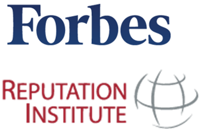 Global RepTrak Pulse – Reputation Institute e Revista Forbes
