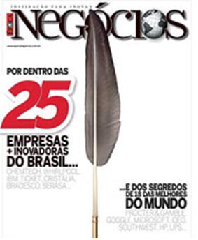 Empresas Mais Inovadoras do Brasil– Revista Época Negócios