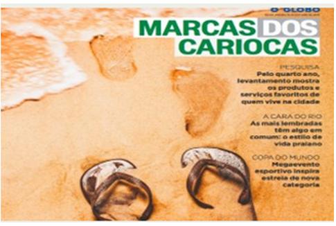 Top of Mind Marcas Cariocas –  O Globo